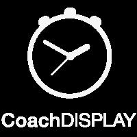 CoachDISPLAY logo wit