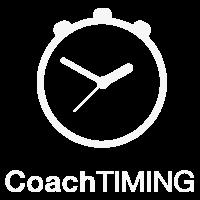 CoachTIMING Logo wit